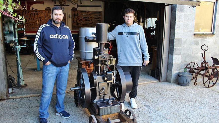 Los Pérez, el motor de Vegadeo
