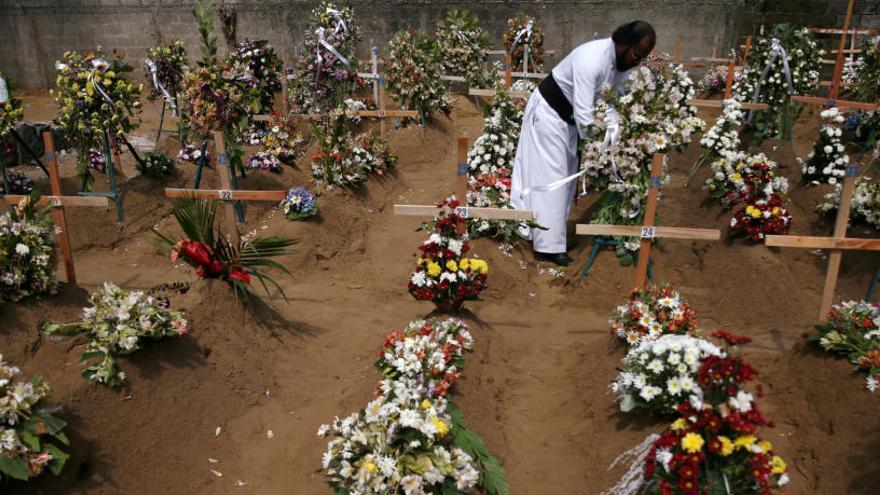 Sri Lanka rebaja hasta 253 las víctimas de los atentados
