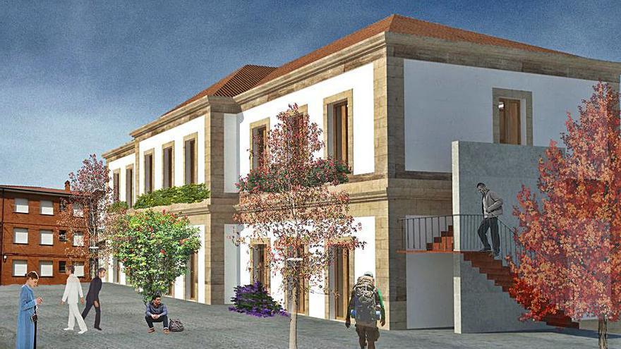 Ribadavia construirá un albergue de vanguardia en la estación de tren