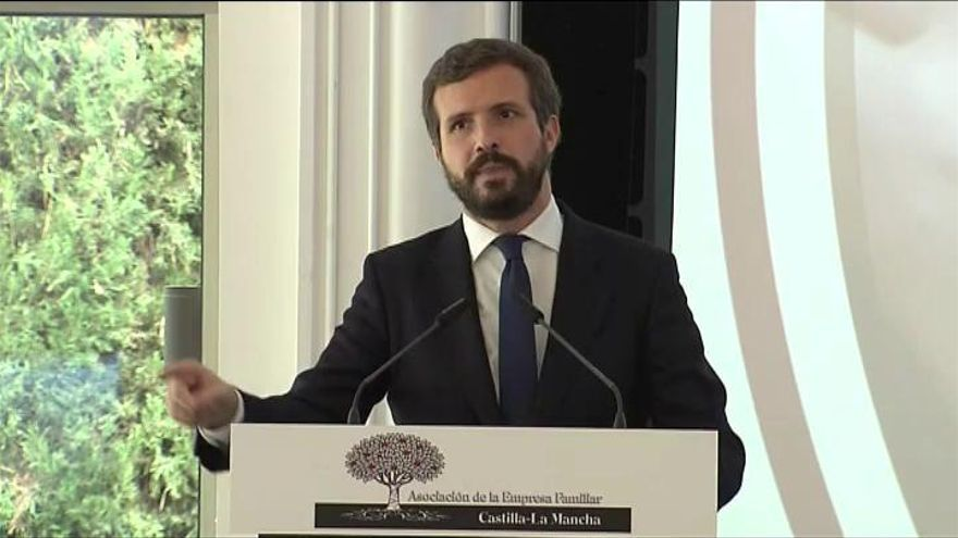 """Casado: """"Si Sánchez no cesa a Iglesias será cómplice"""""""
