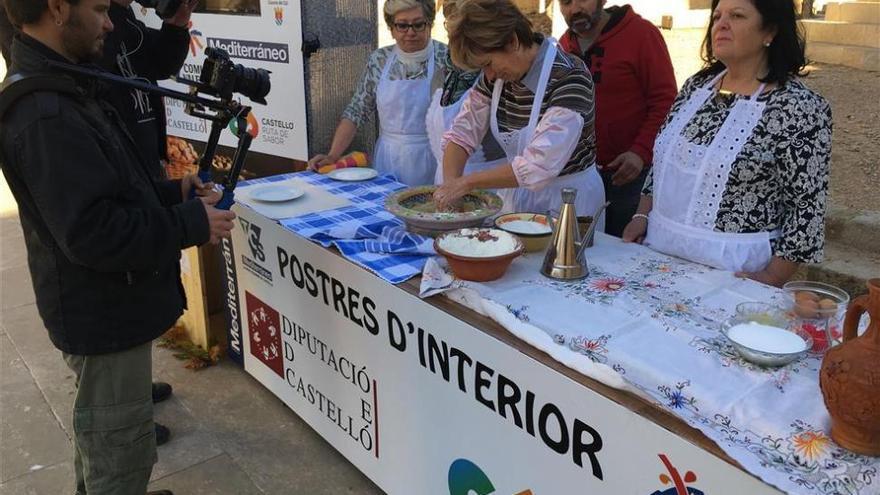 Sant Mateu mostrará en TVCS sus 'delicatessen' más dulces