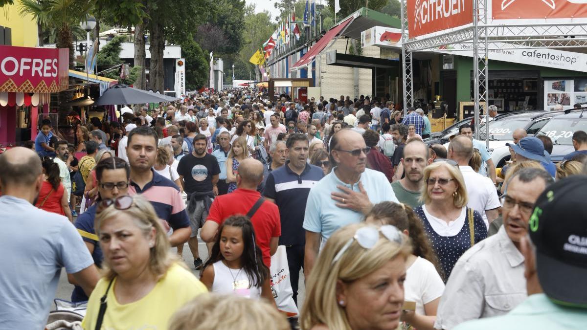 Público en la Feria el año pasado.