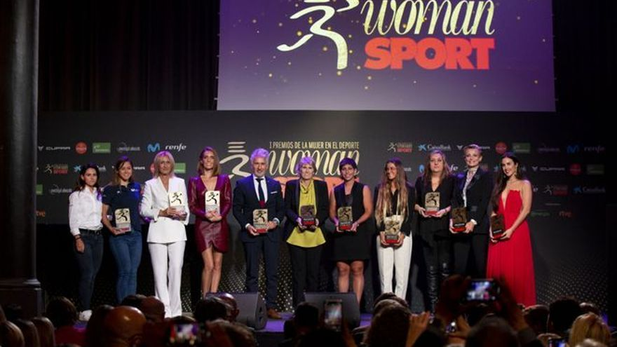 Así fueron los 'I Premios de la mujer en el deporte'