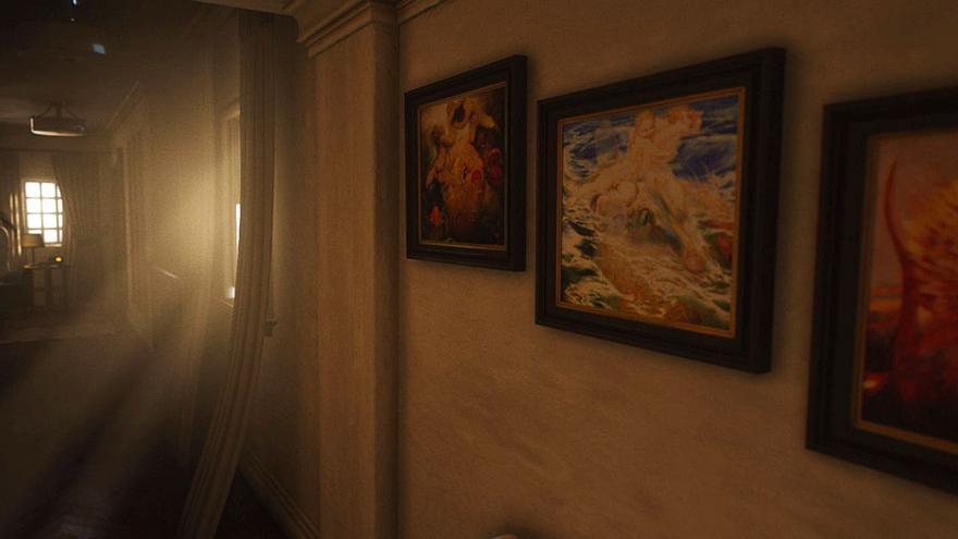Néstor ilustra  el videojuego 'Luto'