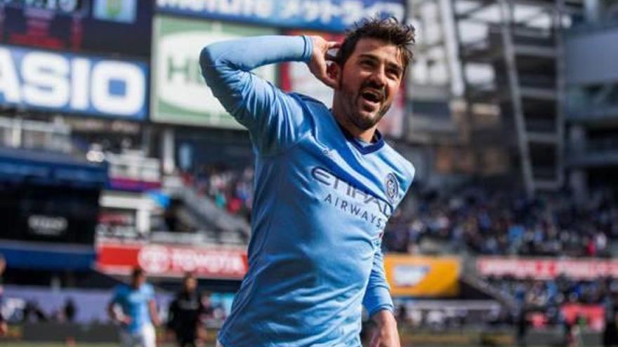 Villa jugarà amb Iniesta al Japó, segons Cuatro