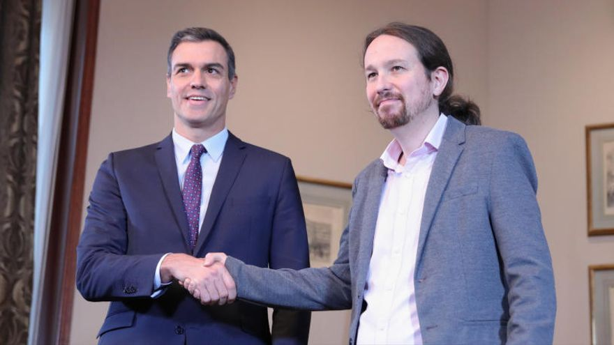 El 97% de los inscritos de Podemos avalan el Gobierno de coalición con el PSOE
