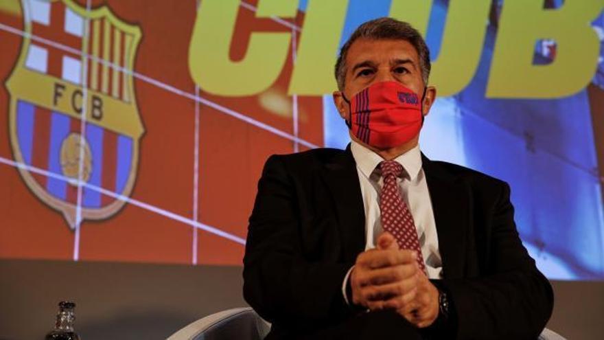 Laporta logra 10.257 firmas para avalar su candidatura a presidir el Barça