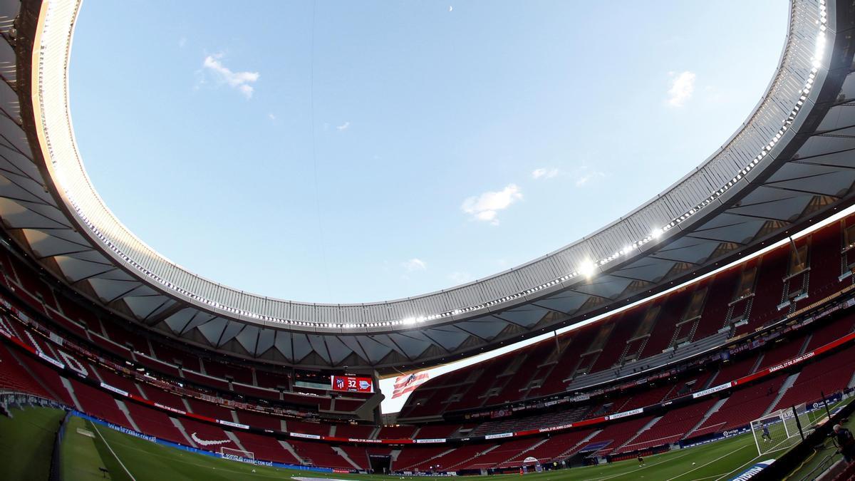 Estadio Wanda Metropolitano de Madrid.