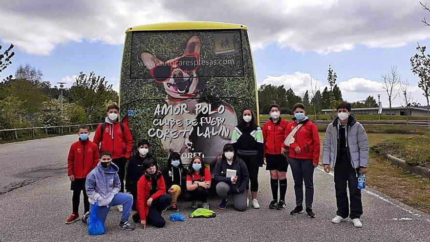 Cara y cruz en la jornada del Coreti Rugby Lalín