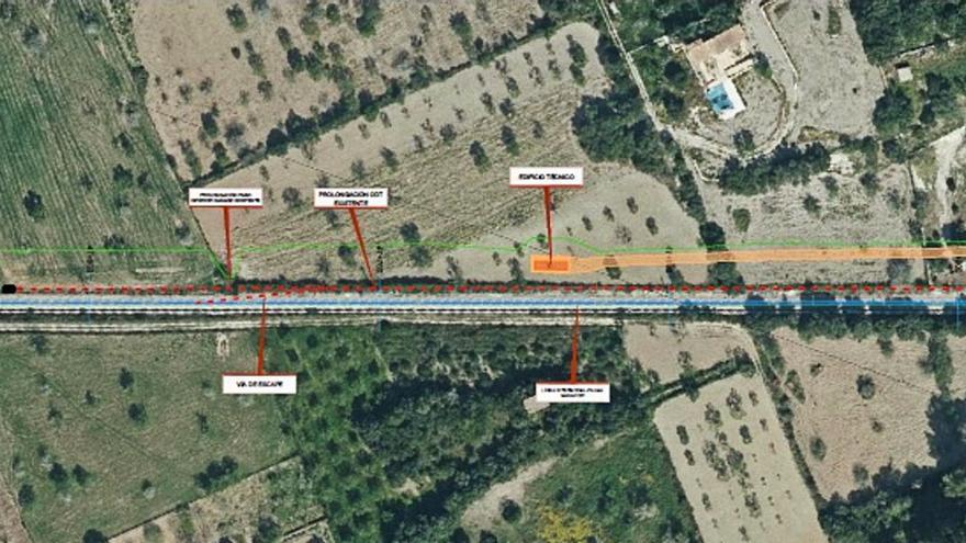La empresa SFM aprueba dos proyectos de obras de mejora de la red ferroviaria de Mallorca