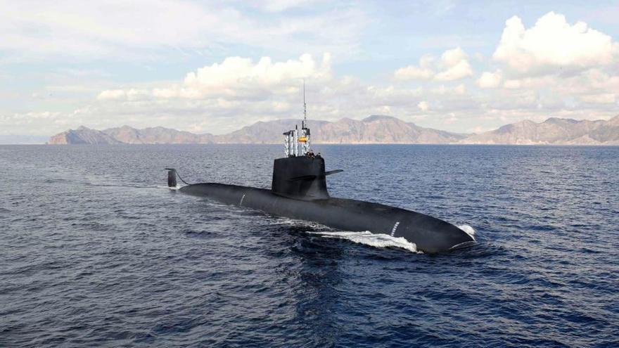 Els nous submarins de l'Armada no caben al moll de Cartagena