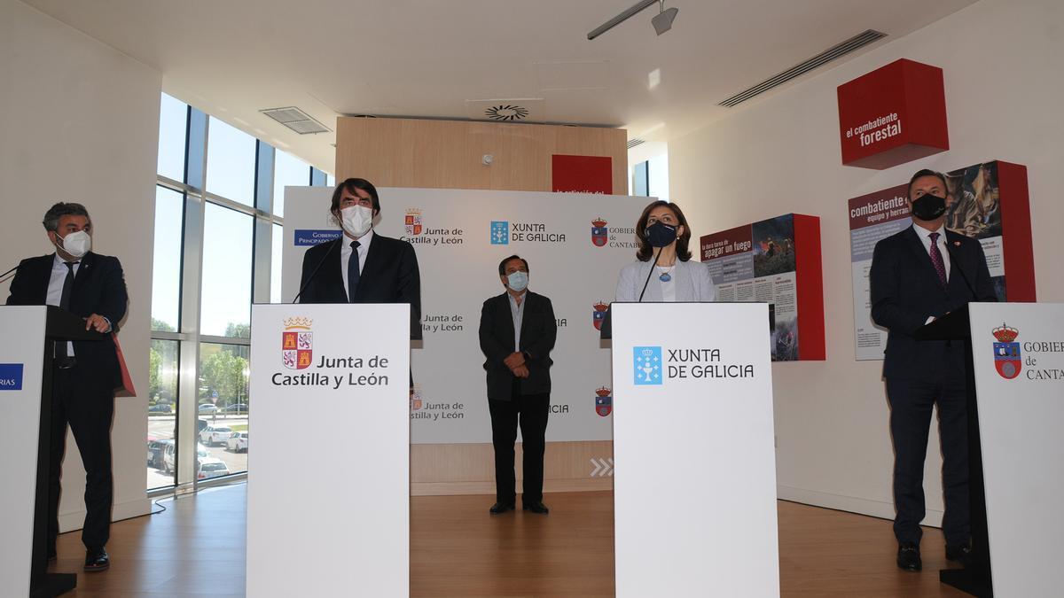 Galicia, Castilla y León, Asturias y Cantabria recurrirán en el Supremo la orden del Gobierno central de incluir el lobo en el listado de protección especial.