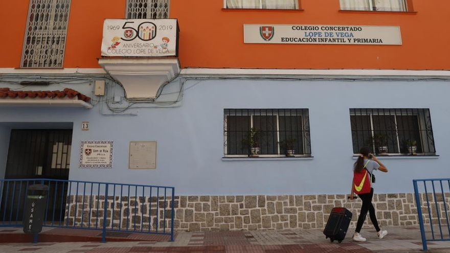 Un colegio de Málaga cierra al completo por coronavirus