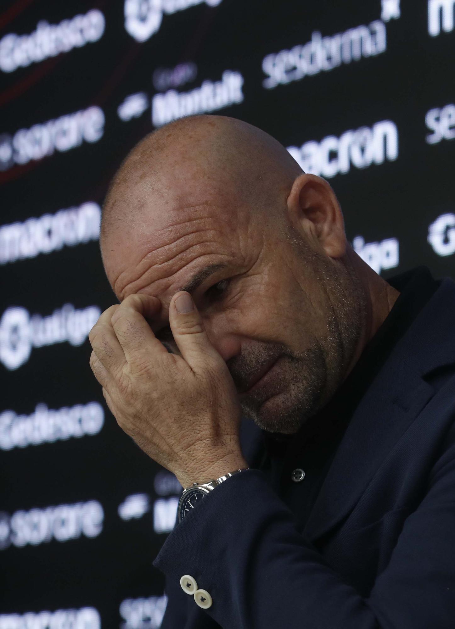 La despedida más emotiva para Paco López