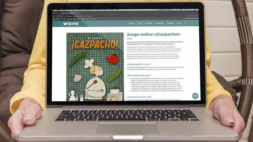'Gazpacho!': un refrescante 'escape room' virtual para una tarde de verano