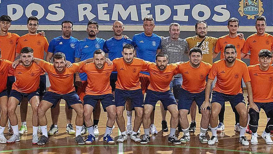 El Sala Ourense regresa a la cancha con la nueva plantilla y la hoja de ruta