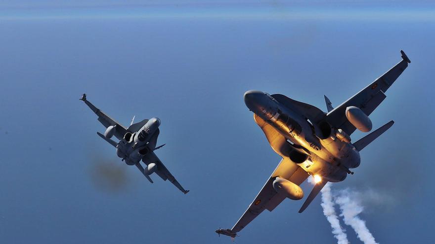 Combate aéreo en Bluceronia
