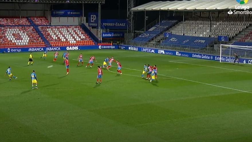 Vídeos de los goles y resumen del partido CD Lugo 1 - 1 UD Las Palmas