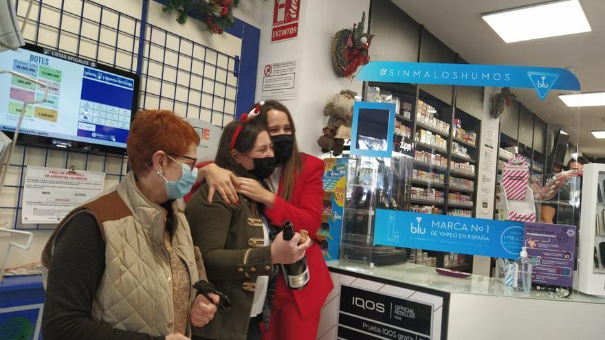 La Grossa de Nadal reparteix 1,2 milions d'euros a València i Alacant