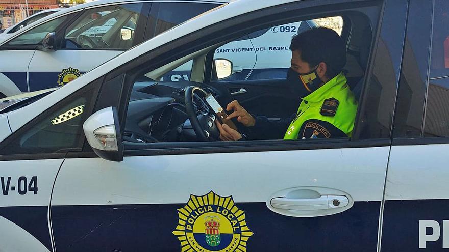 San Vicente estrena un sistema de gestión policial de respuesta inmediata