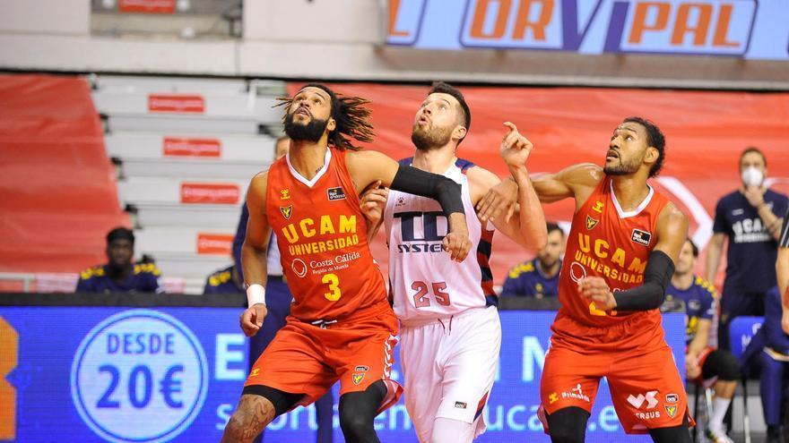 El UCAM Murcia se va a la prórroga ante el Baskonia (78-78)