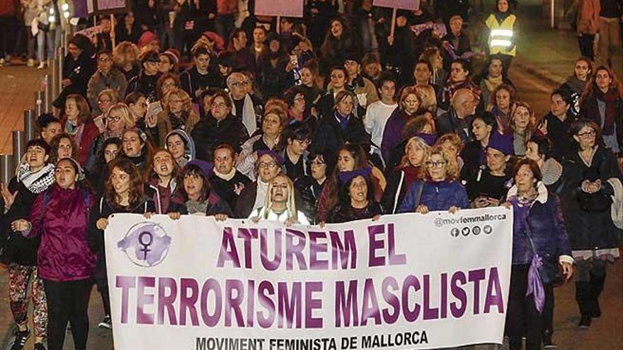 El número de víctimas de violencia machista cae un 13,6% en Balears durante el 2020