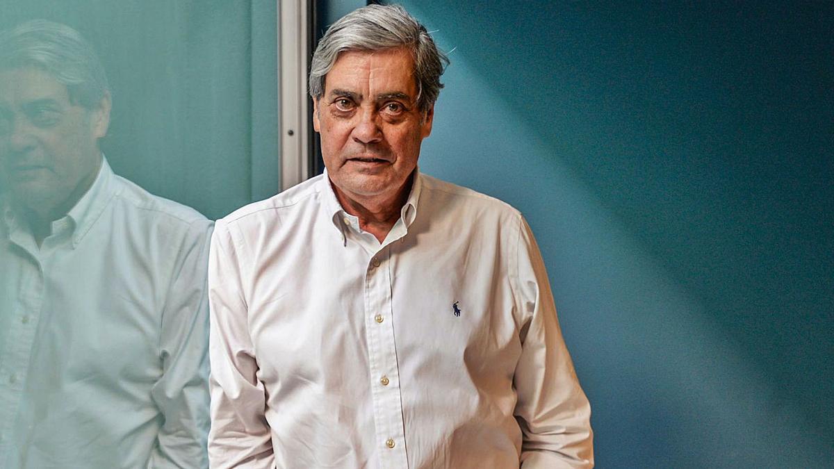 The doctor Pedro Cabrera, in a file image.
