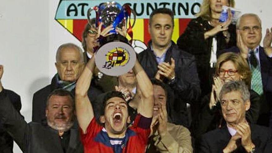 El Atlético Saguntino cumple tres años desde que ganó la Copa Federación