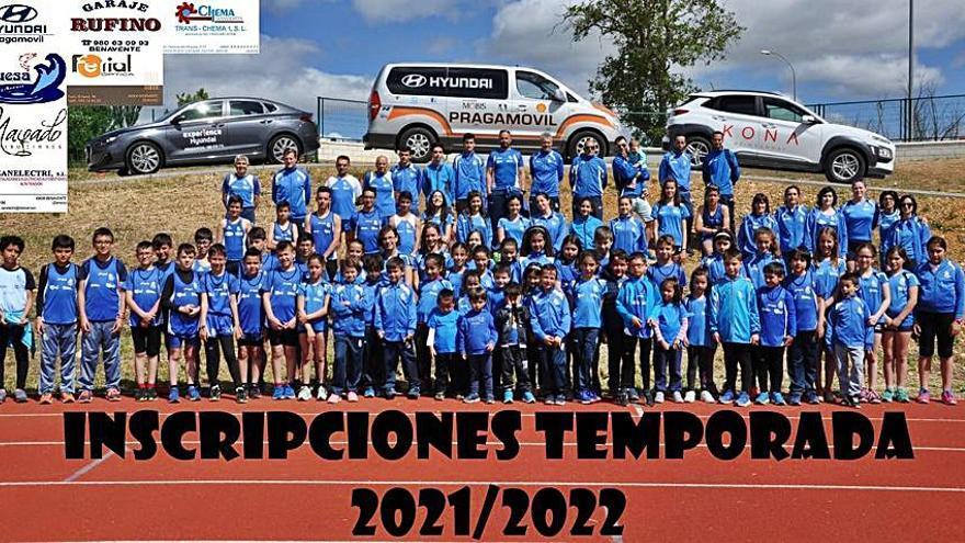 El Club Benavente Atletismo abre su periodo de inscripción para la temporada 2021-2022