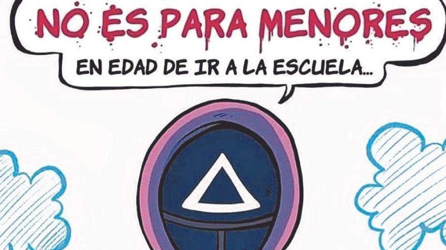 'El juego del calamar' llega a los patios de la Región de Murcia