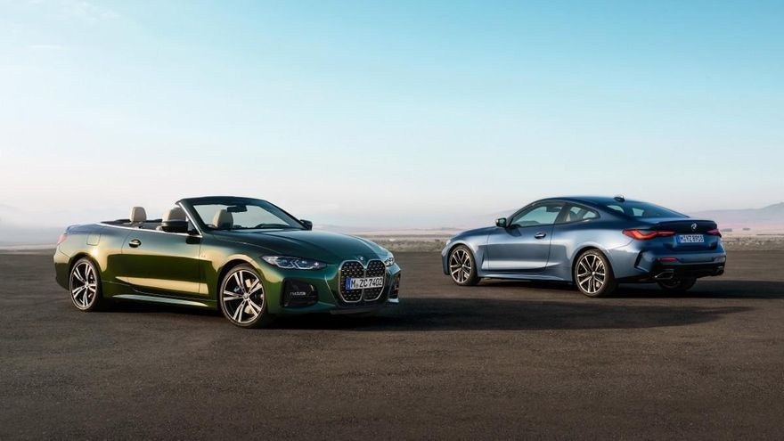 BMW Serie 4 Cabrio 2021, lujo y deportividad a  cielo abierto