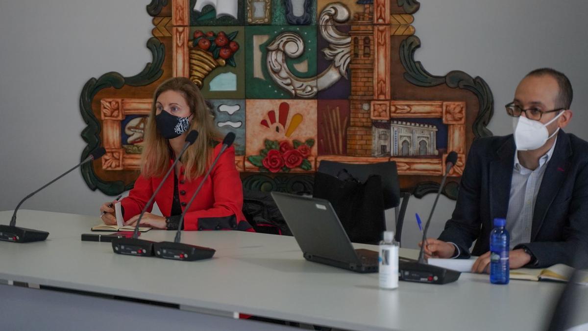 La alcaldesa de Castelló, Amparo Marco, ha puesto en valor la celeridad para solucionar el ciberataque.