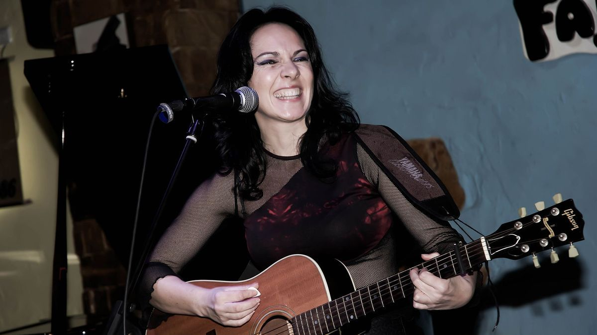 La cantautora murciana Susana Re.