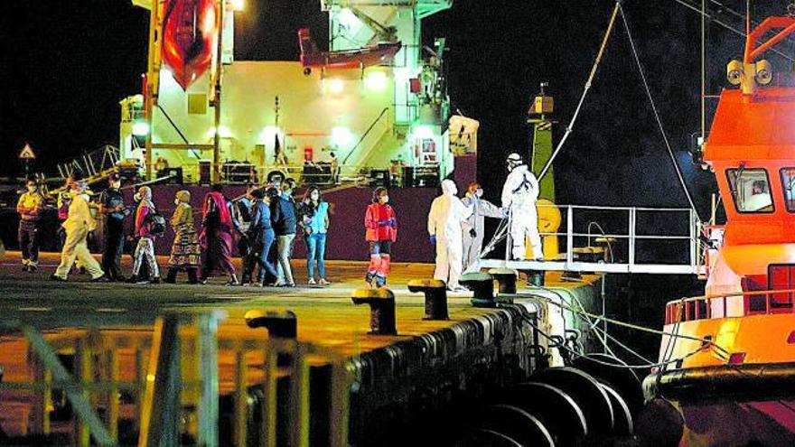 Marlaska defiende que la migración hacia Canarias está bajo control