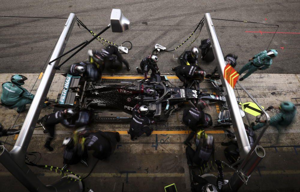 Las imágenes del GP de España de Fórmula 1
