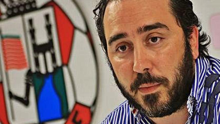 Víctor Aldama, presidente del Zamora CF .
