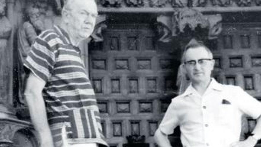 Vino, espías  y literatura. Los 15 viajes de Graham Greene por España