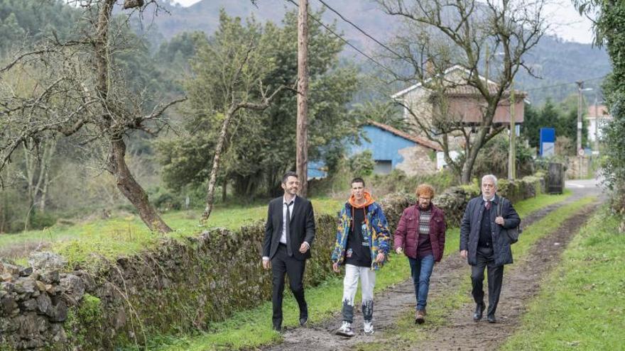 La semana en la que Illas se convirtió en plató de cine gracias a Santiago Segura