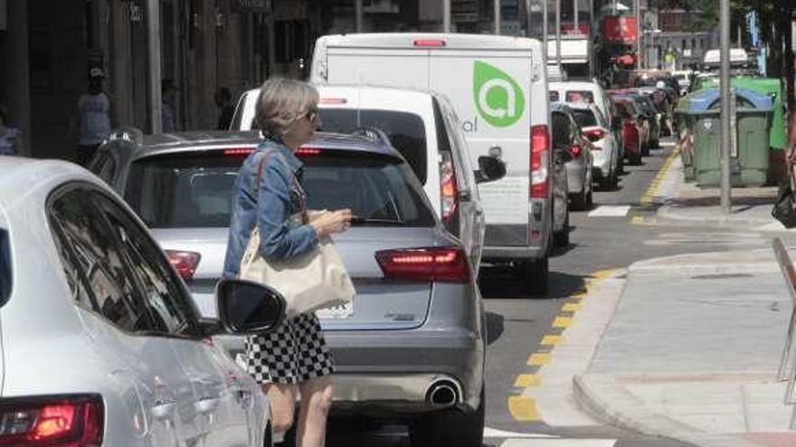 El cierre por otras de la rúa do Rouco carga de tráfico la calle Benito Corbal y otros viales