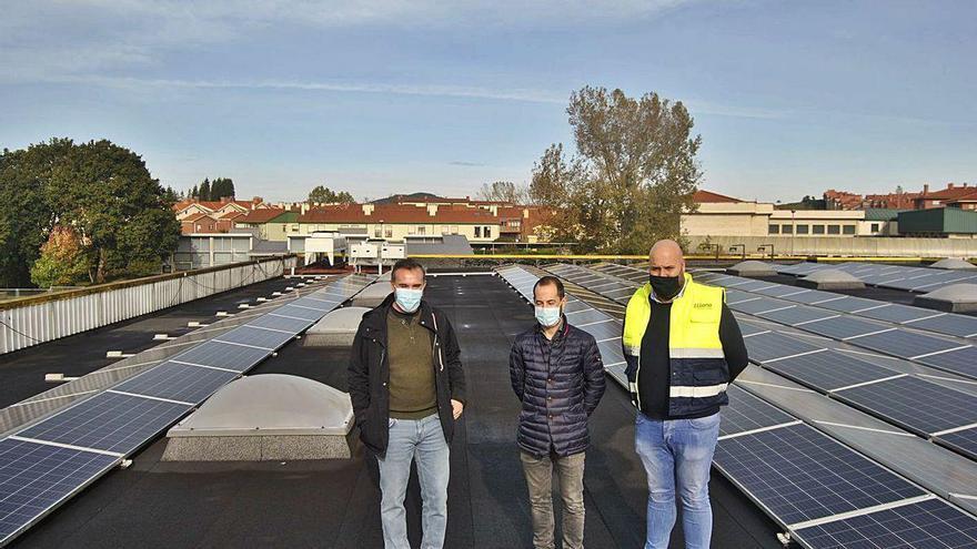 La energía fotovoltaica, al alza en Siero, que planea usarla en edificios municipales