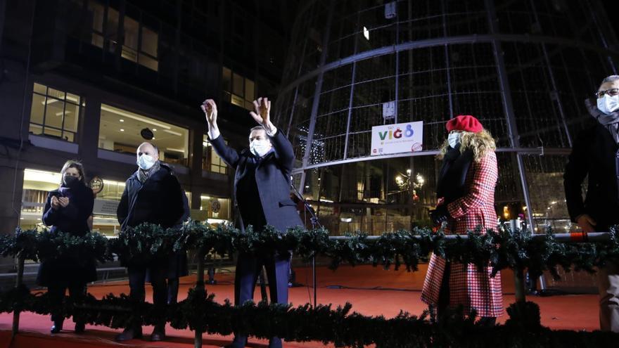 Adiós a la Navidad más atípica de Vigo