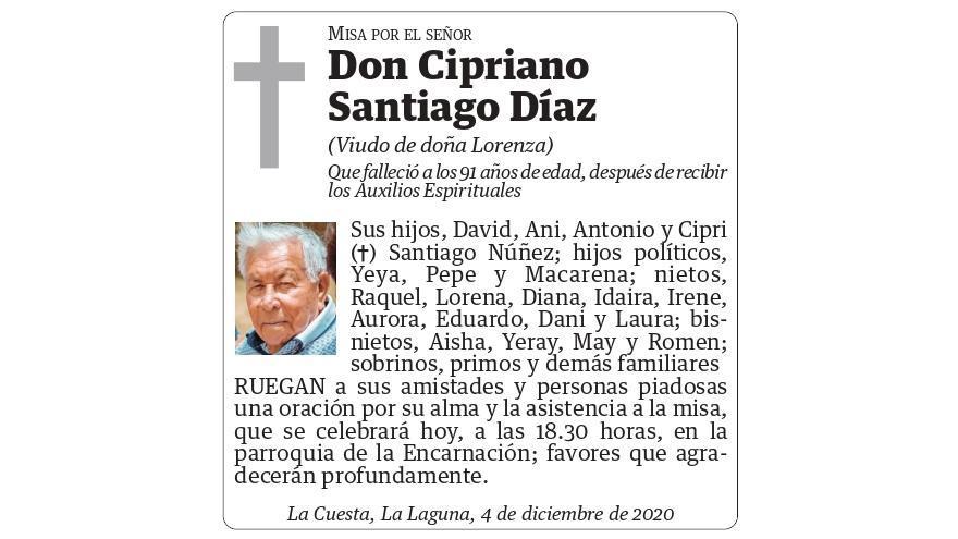 Cipriano Santiago Díaz