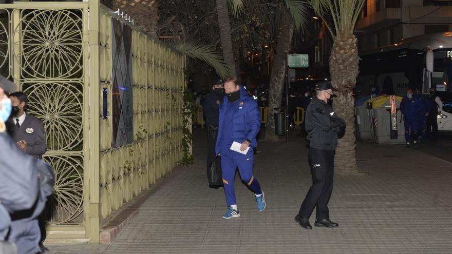 El Barça ya está en Elche