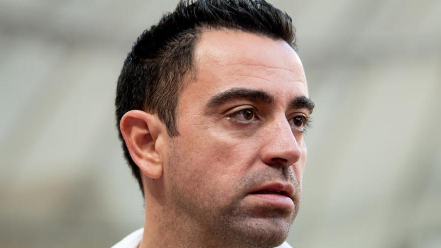 Xavi rechaza la oferta para entrenar ahora al Barcelona