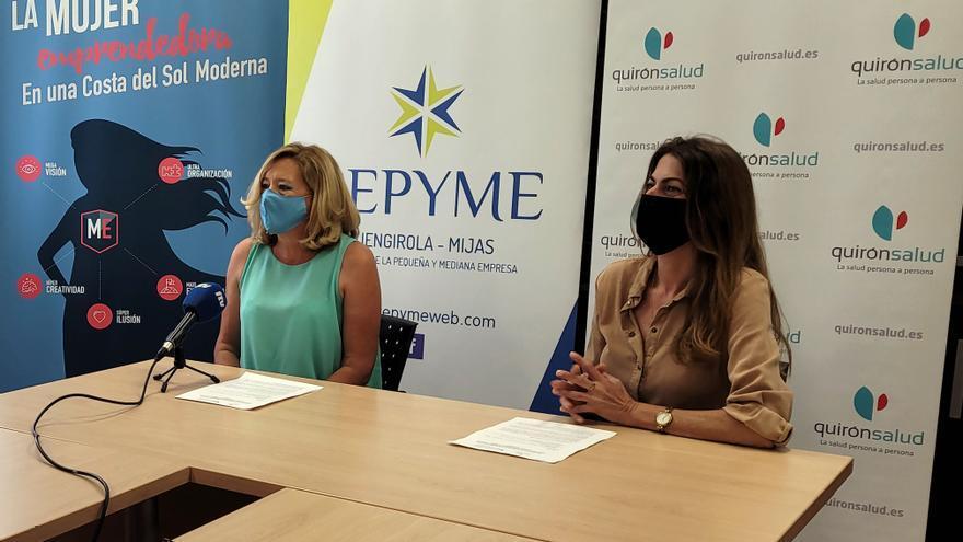 Quirónsalud Marbella firma un acuerdo de colaboración con CEPYME de Fuengirola-Mijas