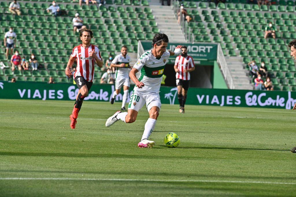 Las imágenes del Elche - Athletic de Bilbao