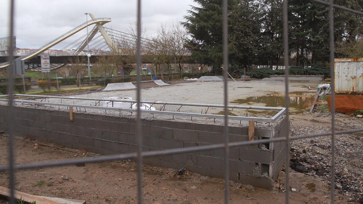 El estado de las obras del 'skate-park'