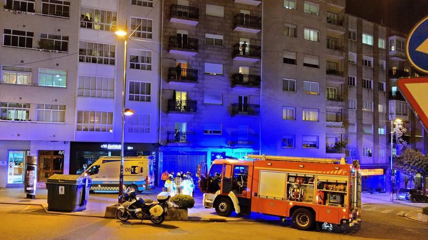 Una familia trasladada al hospital en Vigo por intoxicación de monóxido de carbono