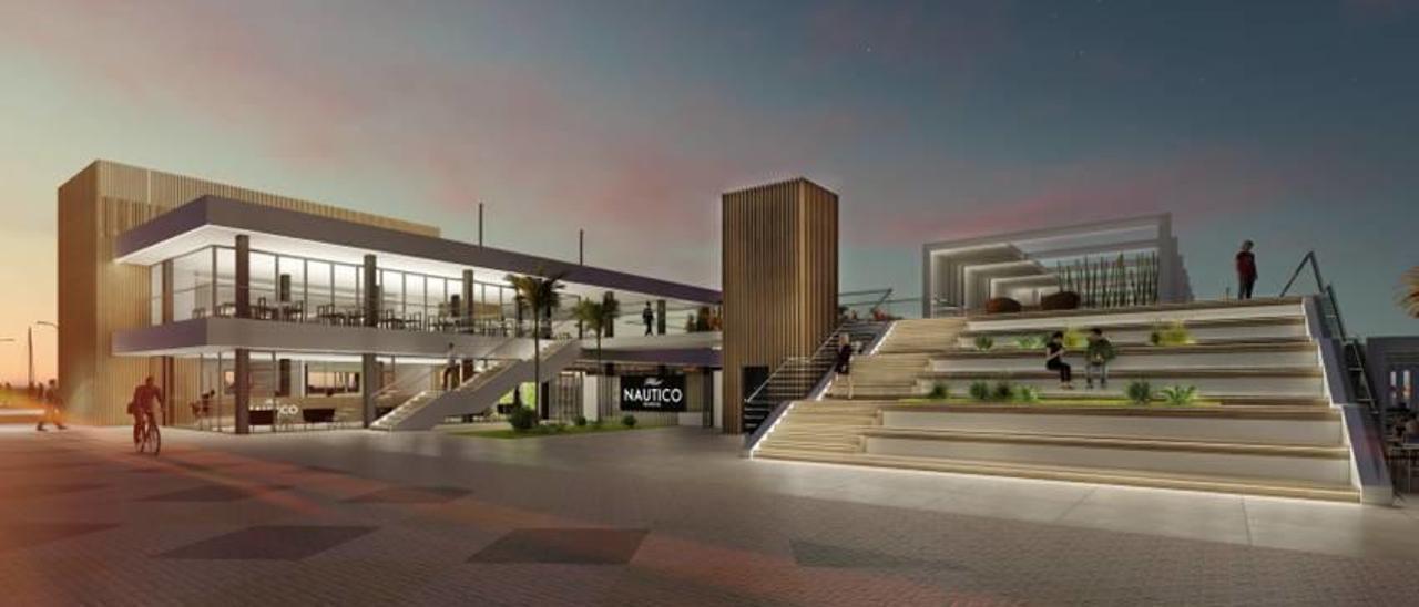 El Puerto aprueba la galería comercial para hacer rentable el Náutico de Gandia