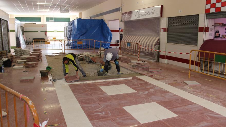 Comienzan las obras de reforma del módulo Este del Mercado Central de Abastos en Jumilla